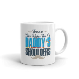 Daddy's Shoulder Mug Handle on Right