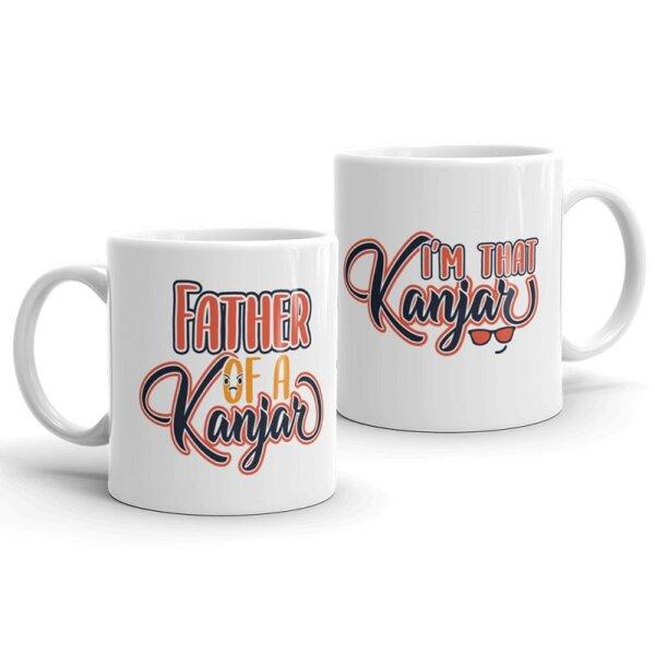 Father of a Kanjar Couple Mug