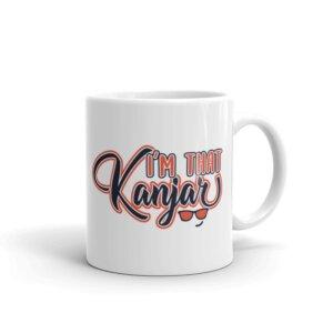 I am that Kanjar Mug Handle-on-Right