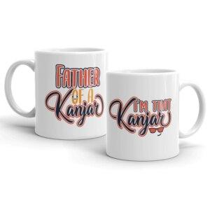 I am that Kanjar couple mug