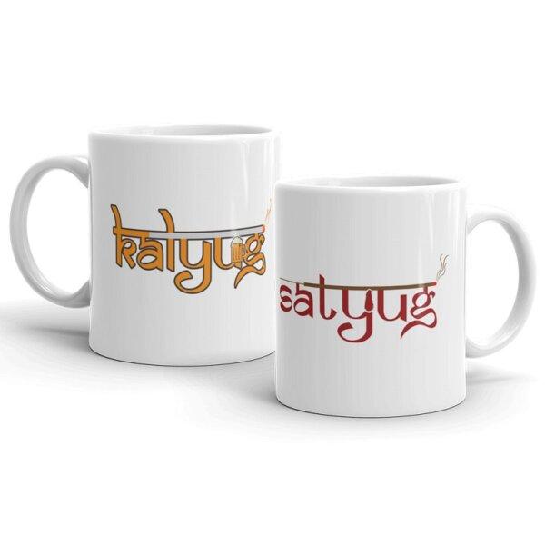Satyug Couple mug